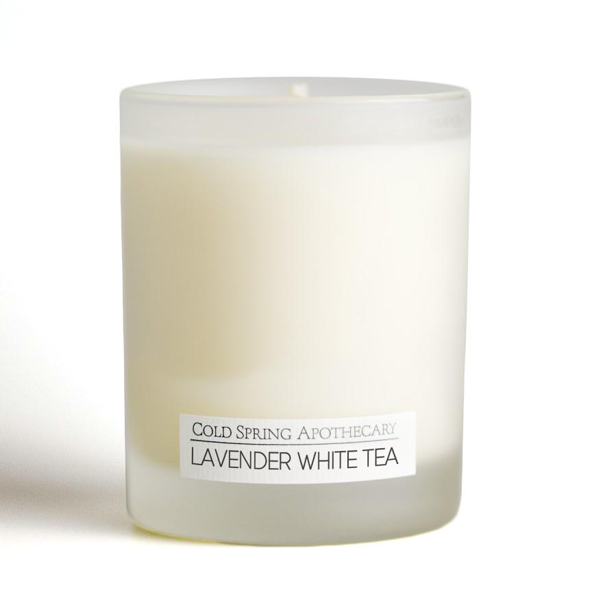 アロマキャンドル ラベンダーホワイトティー 6oz Candle Lavender White Tea