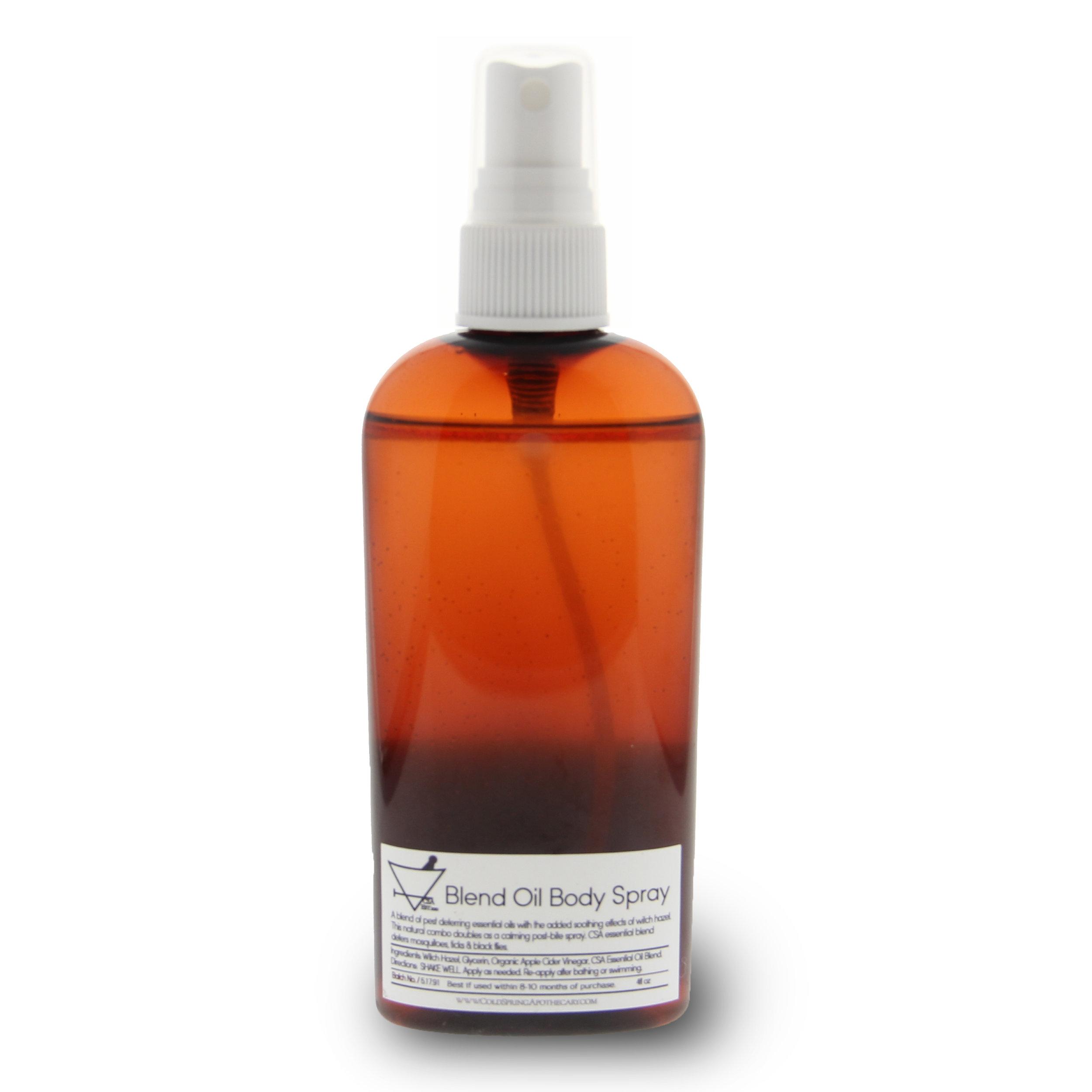 ブレンドオイル ボディスプレー Blend Oil Body Spray