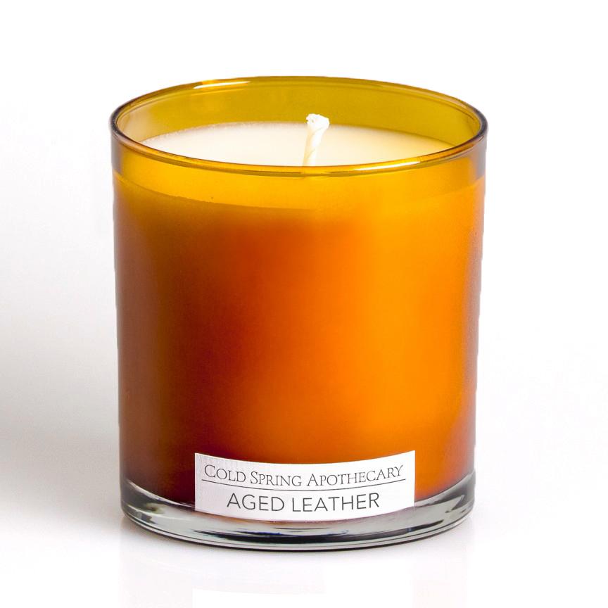 アロマキャンドル エイジドレザー LTD Candle Aged Leather