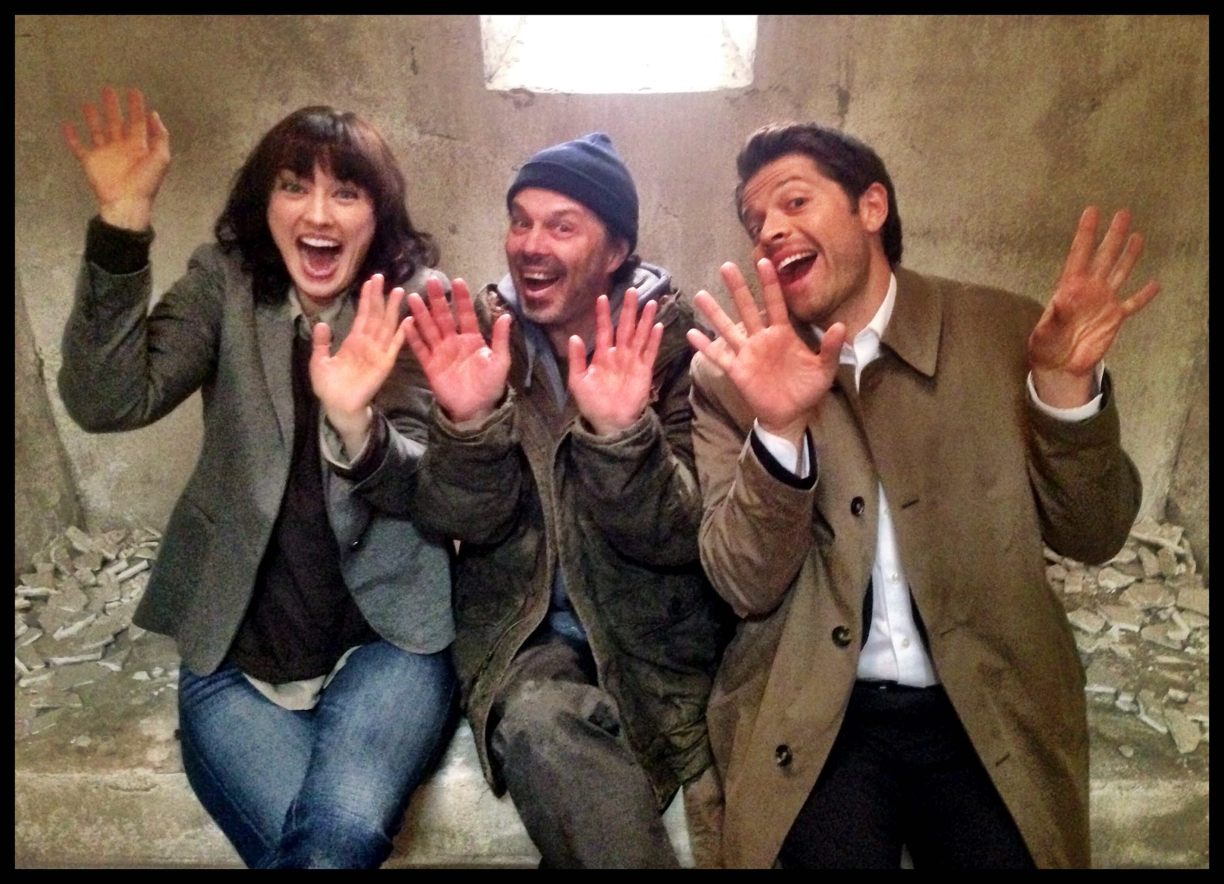 Supernatural Season 9 | CW with Curtis Armstrong & Misha Collins