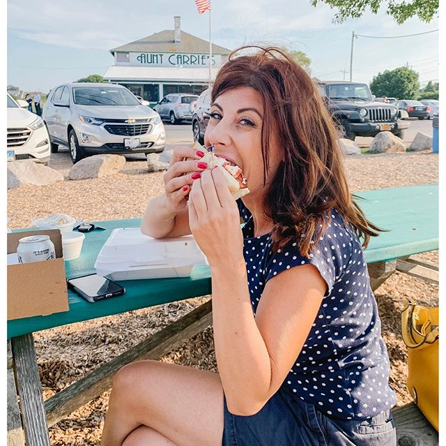 It was a wild frenzy! Gosh I couldn't devour this thing fast enough! Umm lobster BLT had no idea this was a thing... mindfulness begins with eating what makes your soul happy 😁 @auntcarries  w/ my bestie @krissy3416  #bythebeach #lobstah #entrepreneurlife