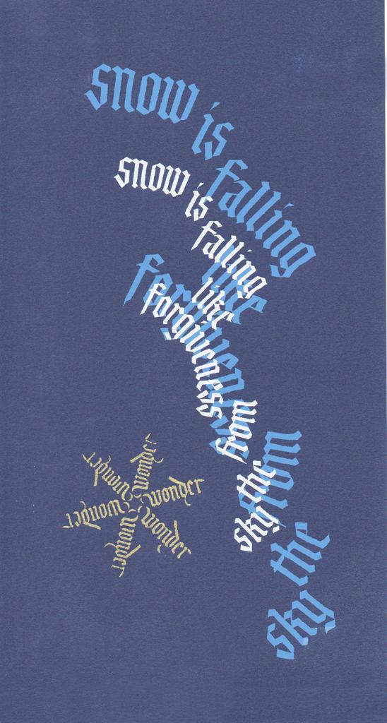 Tim Botts, Snow Falling Like Forgiveness