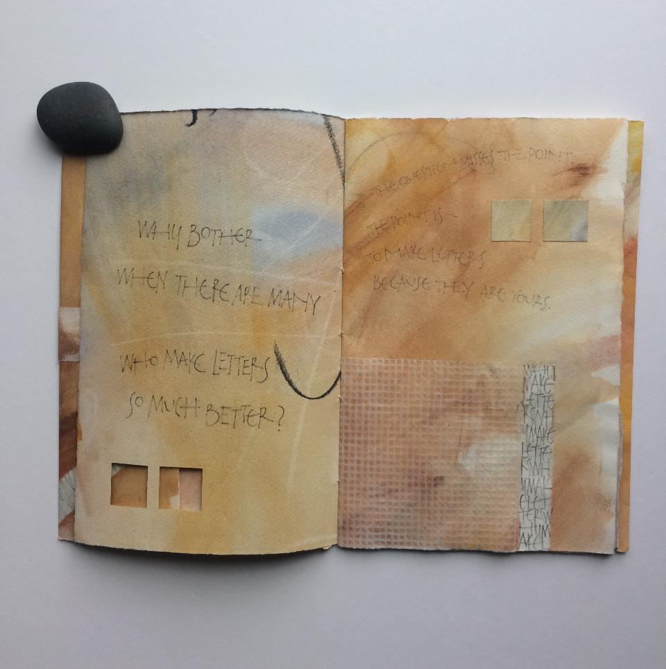 Lee-Cronkhite, Tina - Why Make Letters #1_B