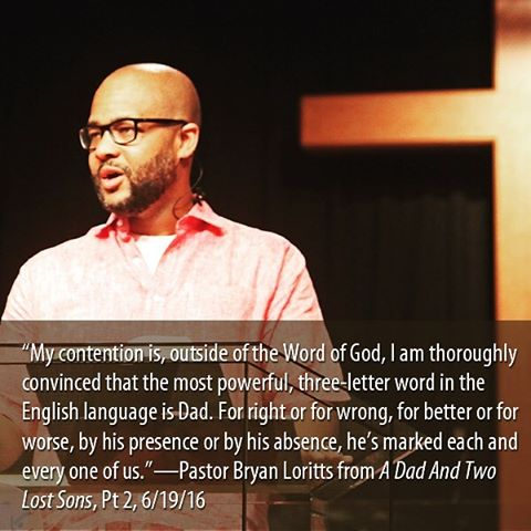Celebrating Father's at ALCF!  @bcloritts #PastorBryan #ALCFmessages #TwoLostSons #FathersDay #bryanloritts.tumblr.com (at ALCF)