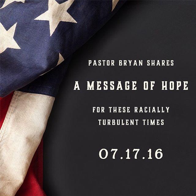 #ALCFmessages #bryanloritts #hope