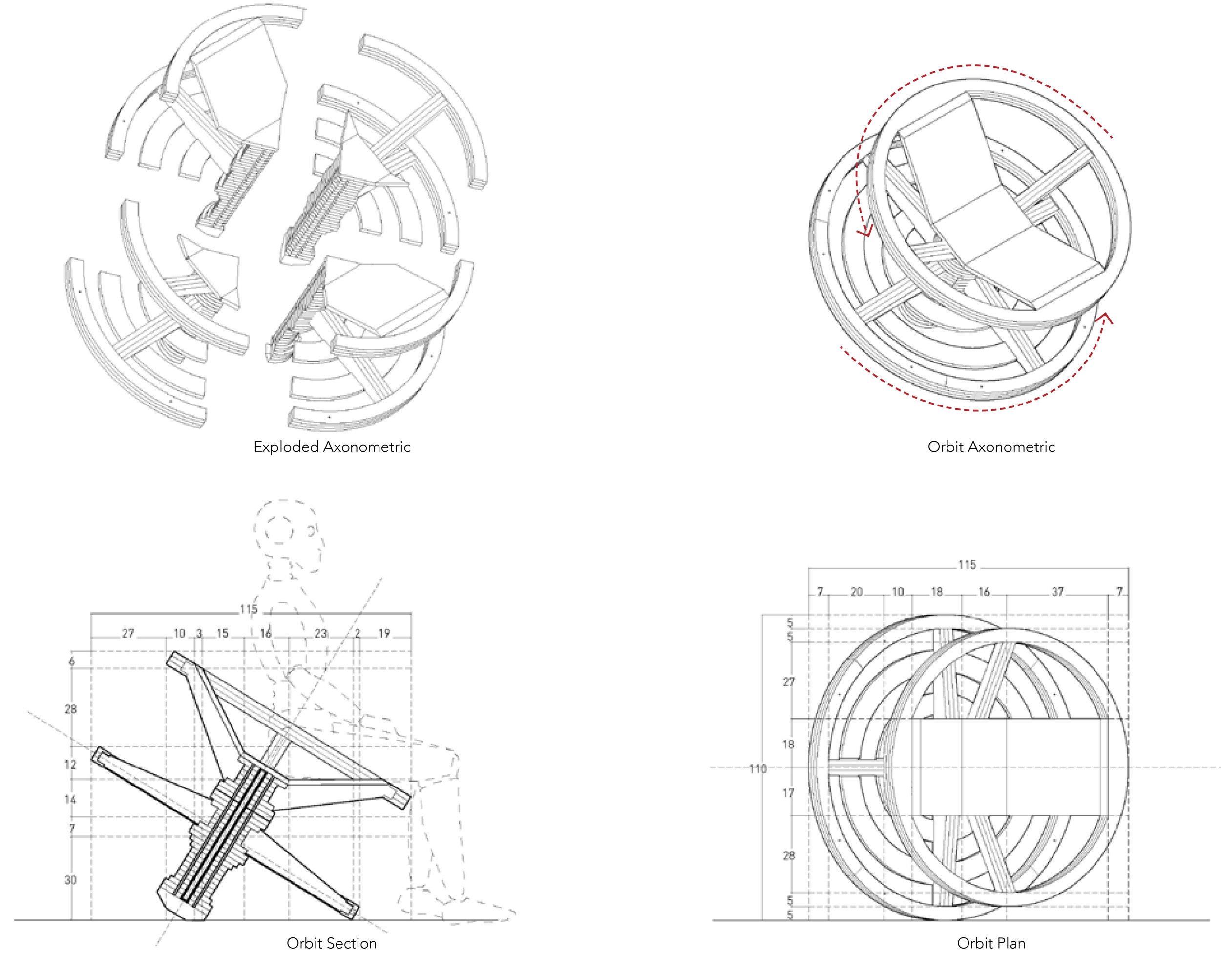 Orbit Mode Drawings