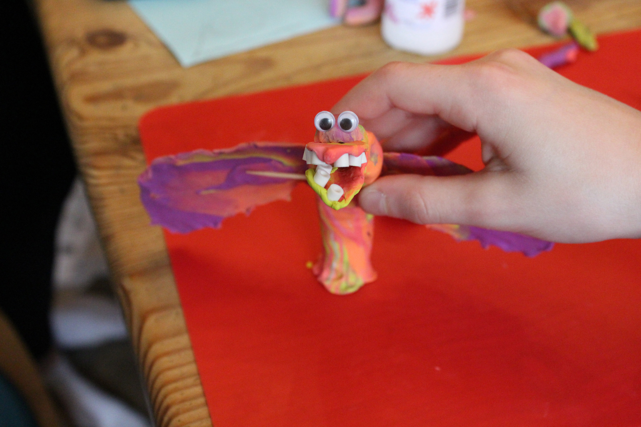 Claymation workshop with Untold Stories