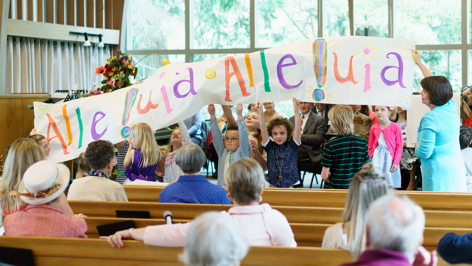 Sunday School at Fauntleroy Church