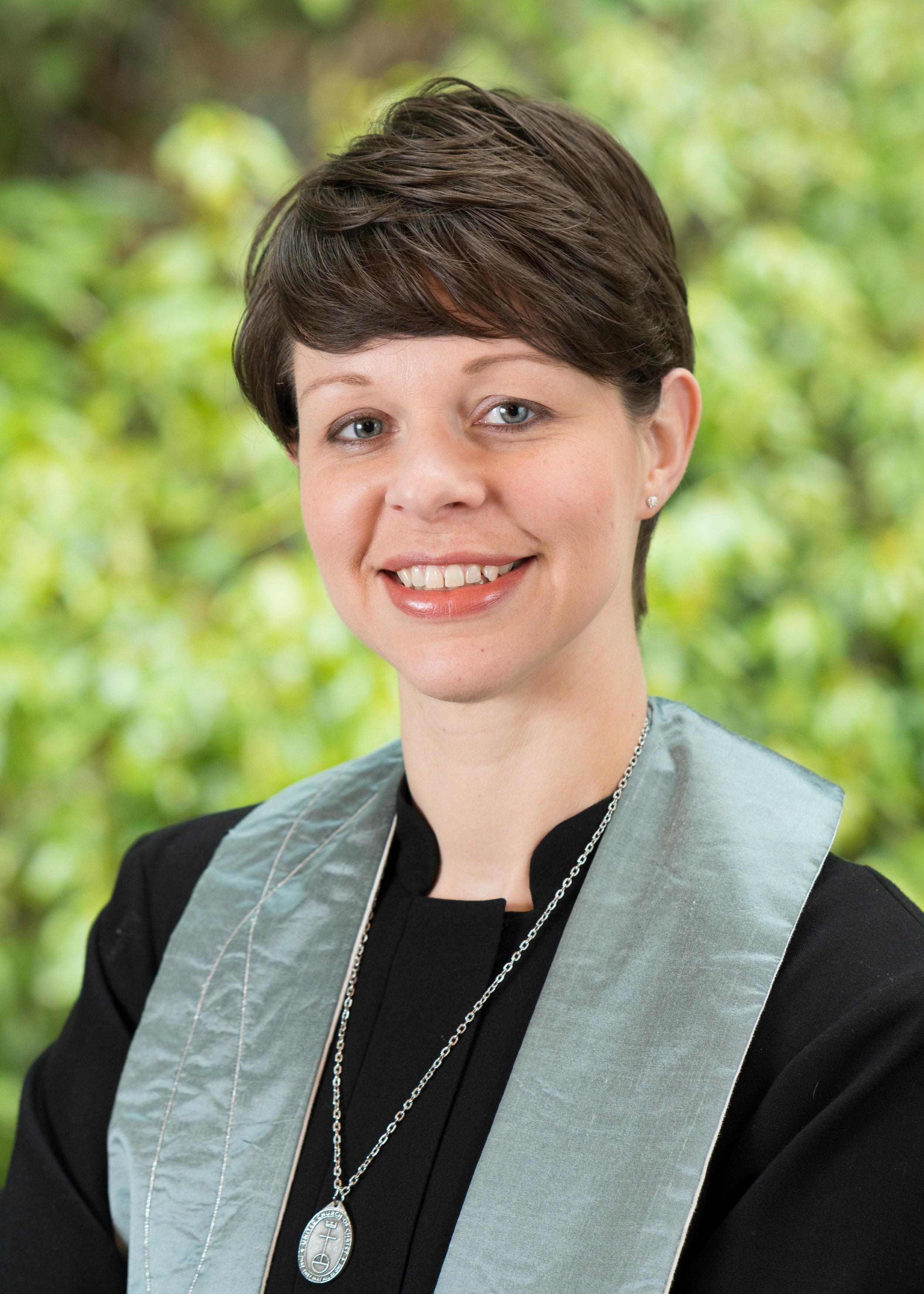 Rev. Leah Atkinsin-Bilinski   Senior Pastor