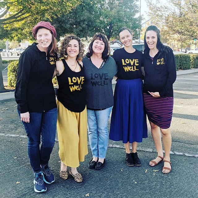 Nothing better than being with friends who  Love Well and sport the shirt and hoodies.  #lovewell #loveyourfriends #lovewellmission #lovewelltshirt