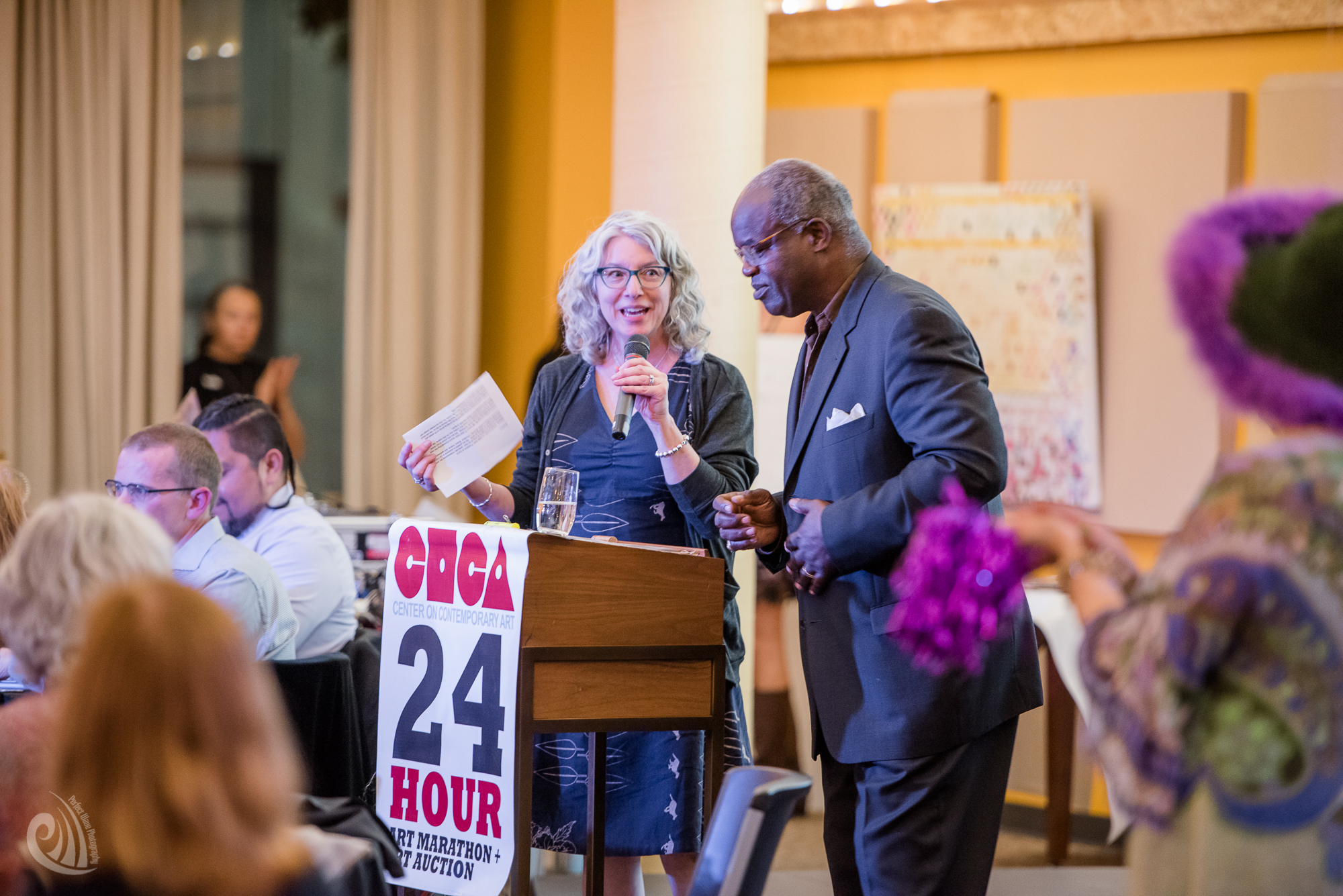 Judy Rayl and Eddie Reed. Photo: Lonnie Mckenzie