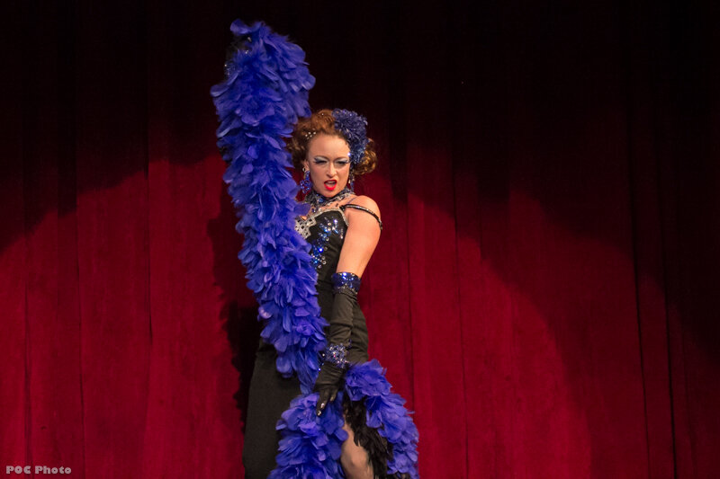 Don't miss a scintillating burlesque performance by Tamara the Trapeze Lady  (Photo credit: POC Photos via Tamara Dover)