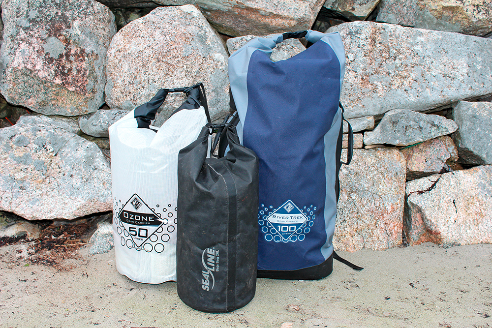 Dry bags from Palm and SealLine