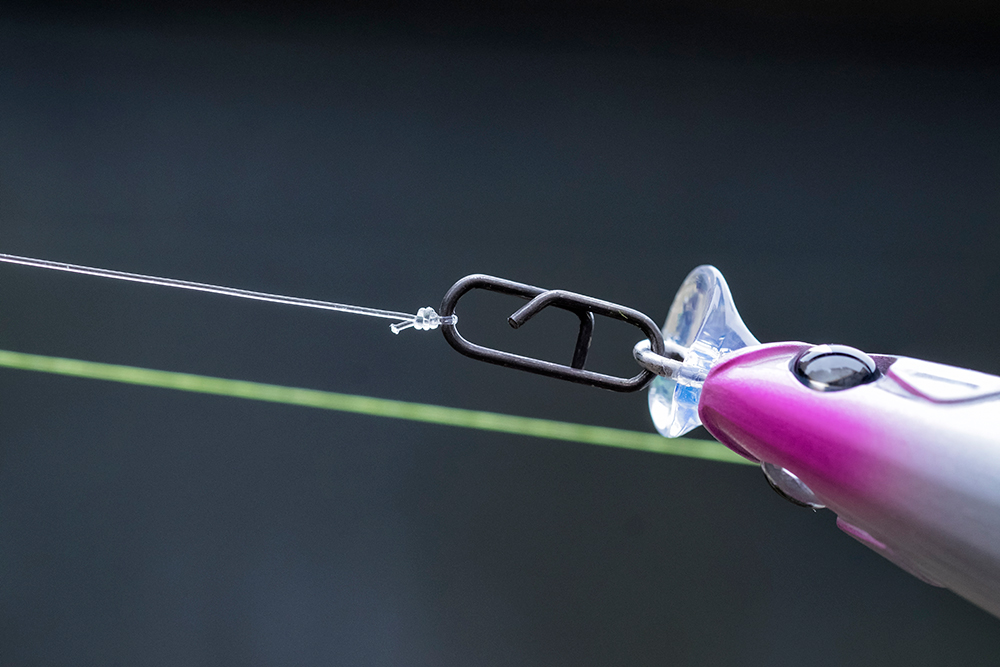 A mini clip designed for continental rods has proved an ideal link choice for lure anglers