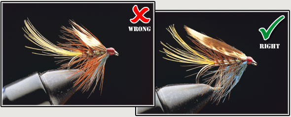 Mink Zonker Strips for fly tying Three colours Making Minkie flies