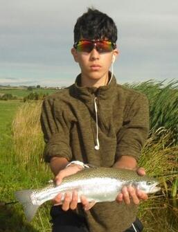 Aidan Layug with a Chatton rainbow.
