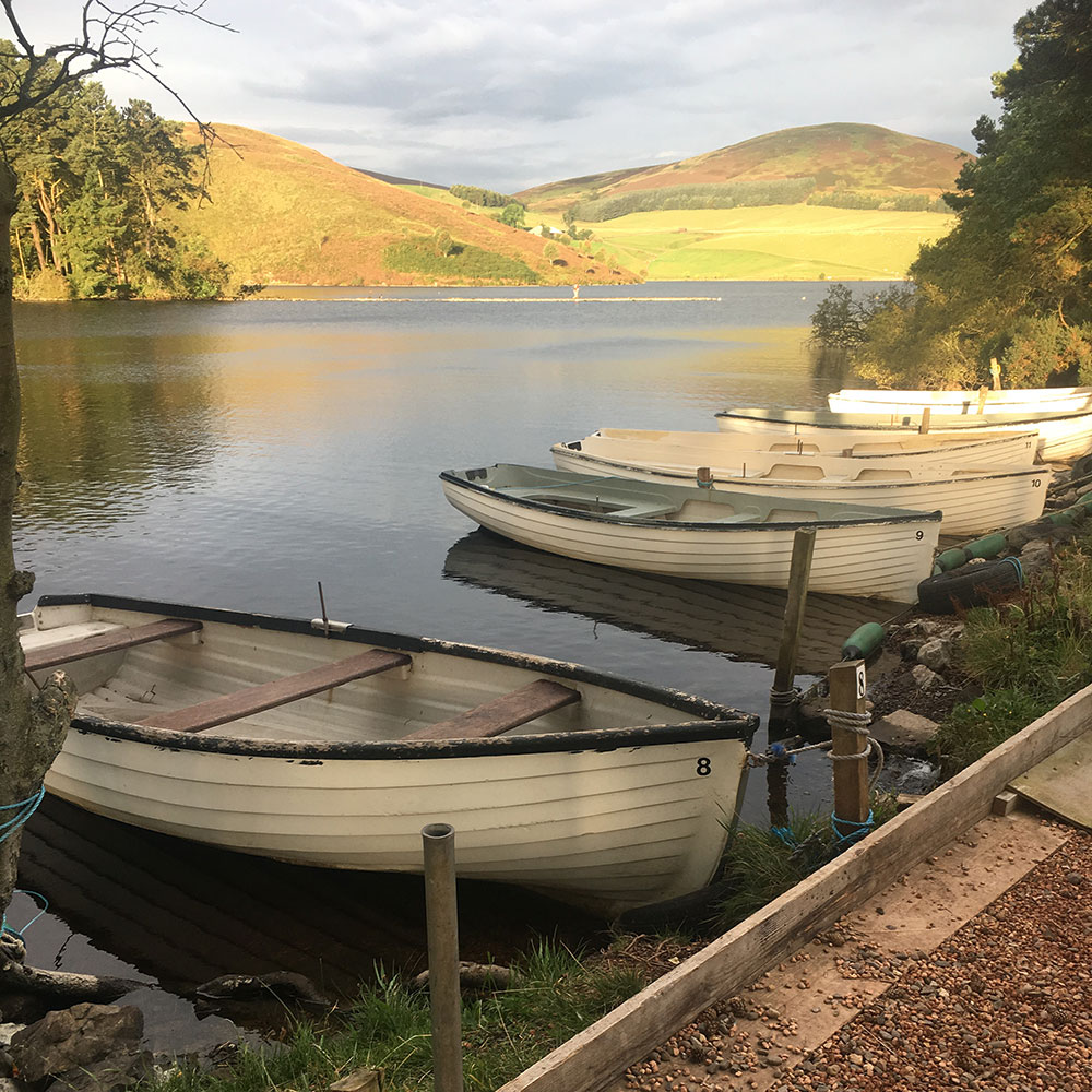 Heriot angling club outing - Glencorse reservoir, Edinburgh