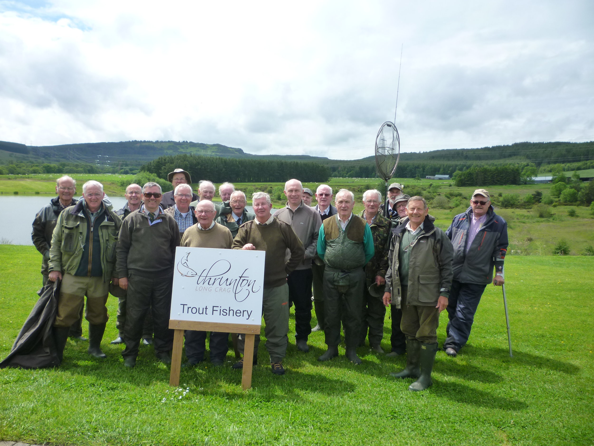 The Ellem Fishing Club had a good day at Thrunton fishery.