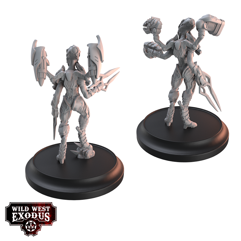 Viridian Beta Miniatures Set