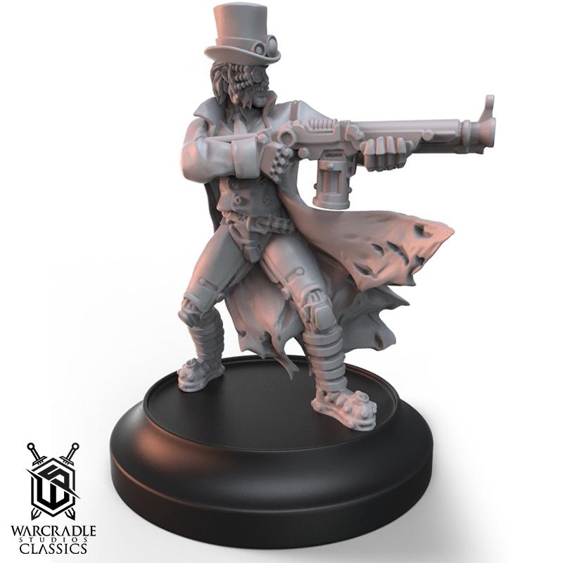 Dr. Carpathian Alternate Sculpt