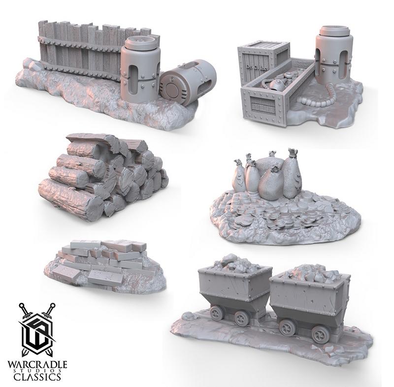 Barricade Terrain Set II