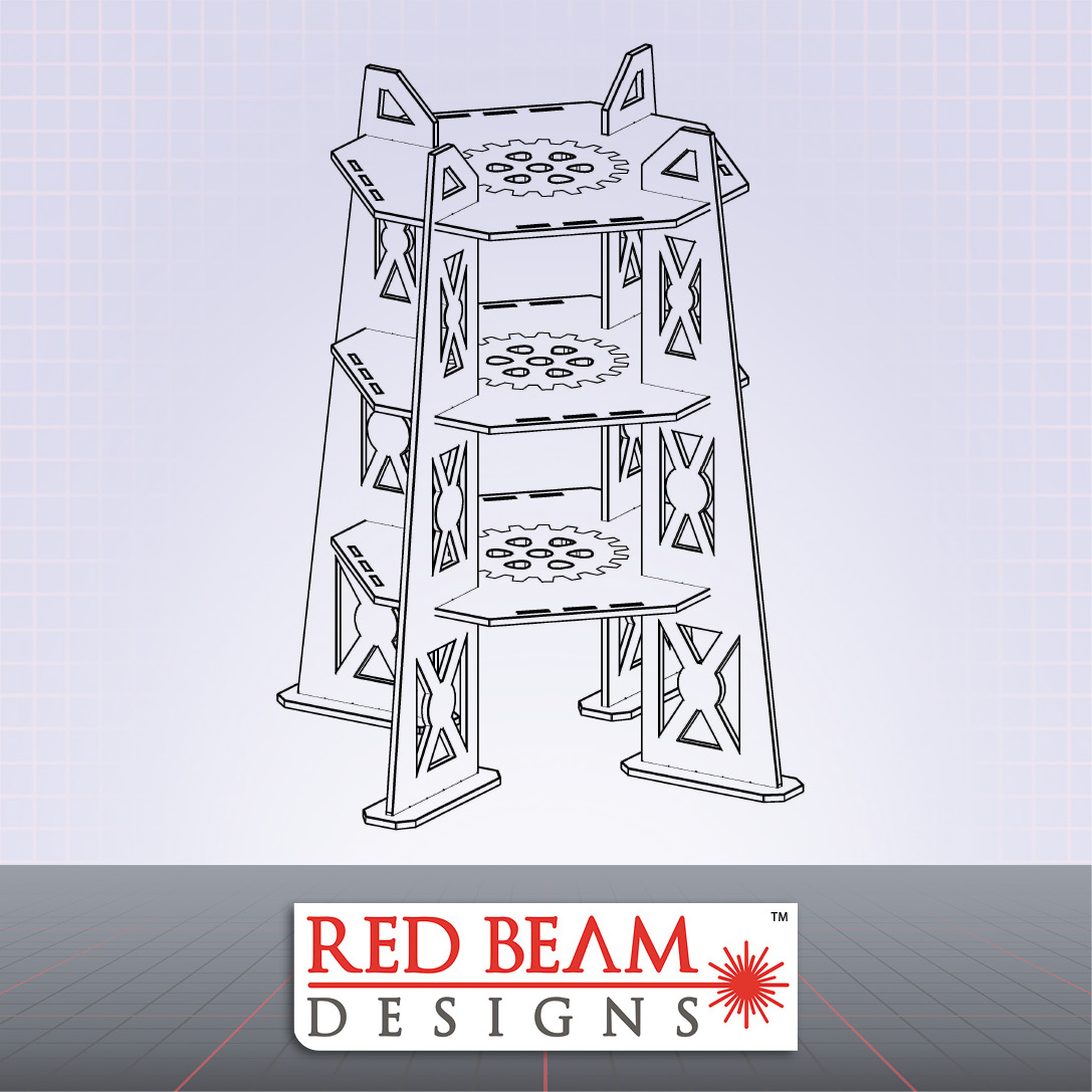 Complex Red - 3 Storey Tower