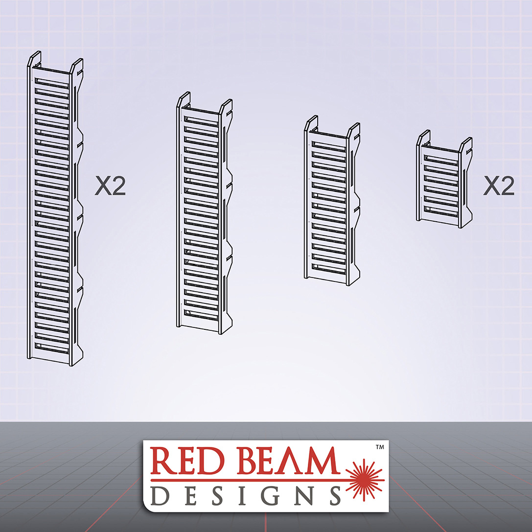 Complex Red - Ladder Set