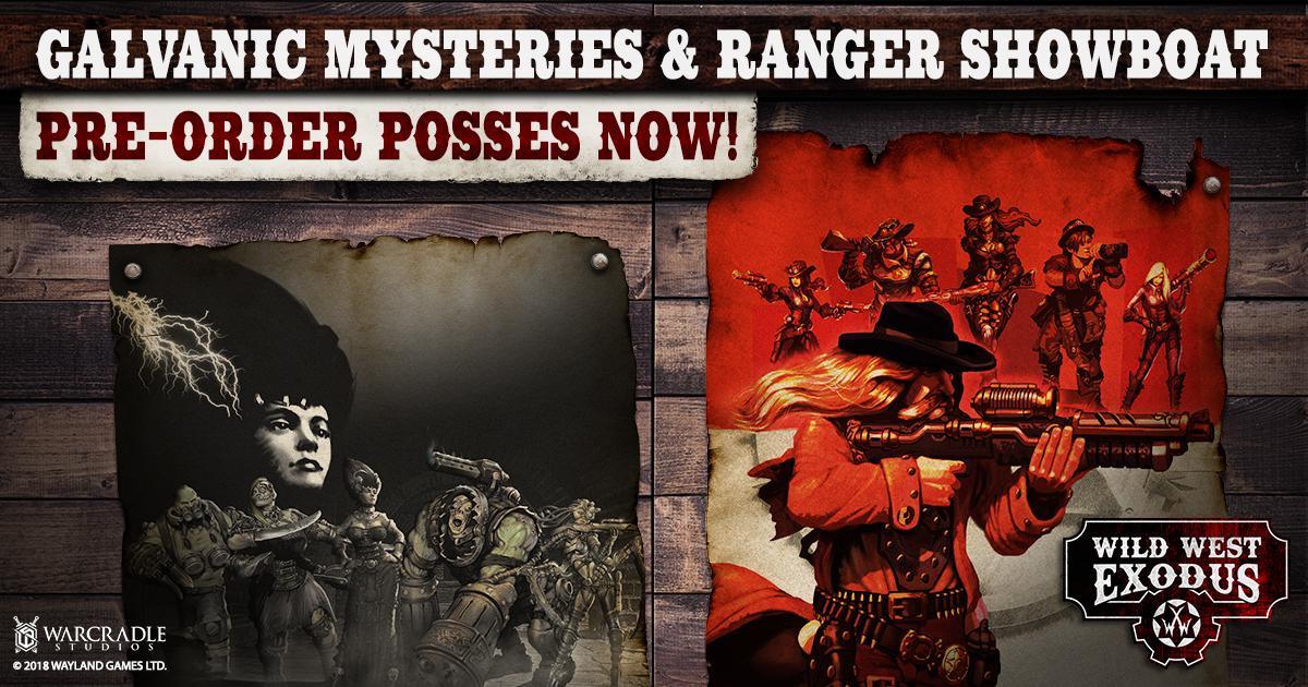 Wild West Exodus September Releases