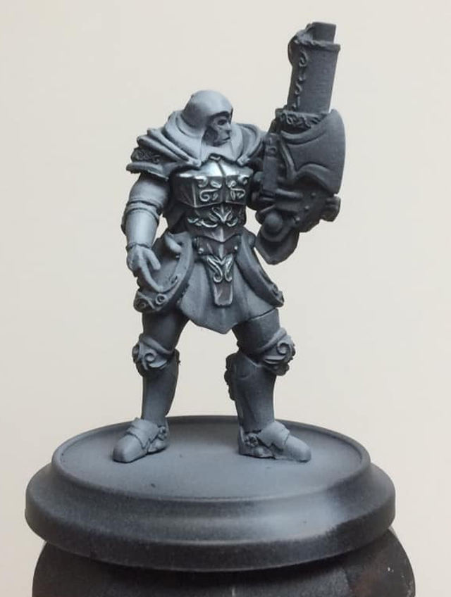 A glaze of Sanguine Base is applied to the shadowed area to add visual interest and you're done!