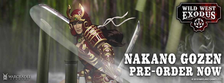 Nakano Gozen - Emissary of the Blazing Sun