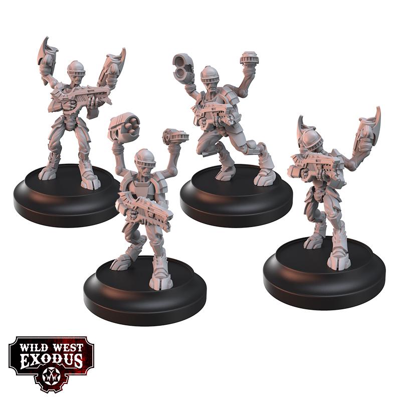 Grey Elite Myriad - The Watchers