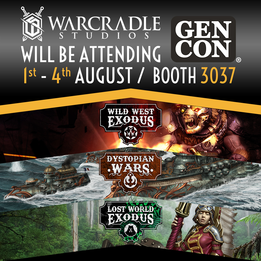 Warcradle Studios at Gen Con 2019