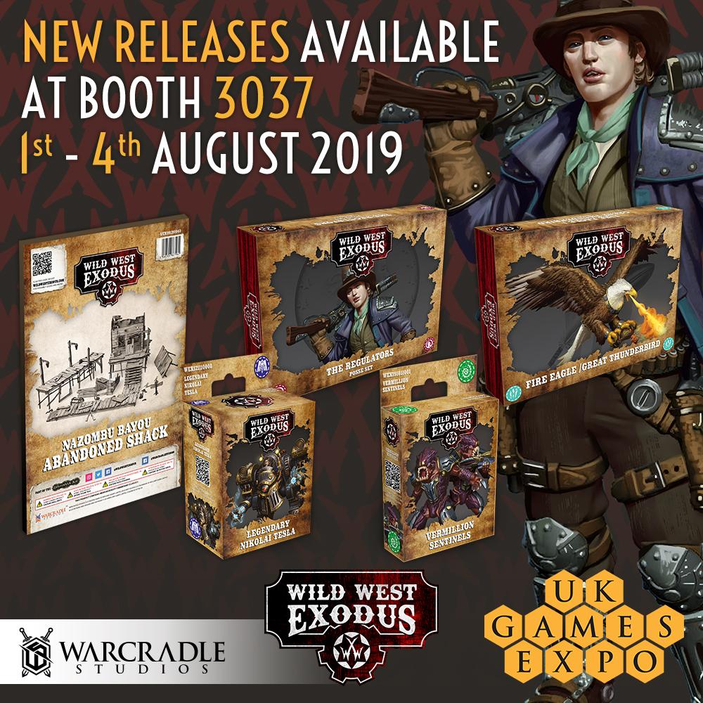 Wild West Exodus July Releases