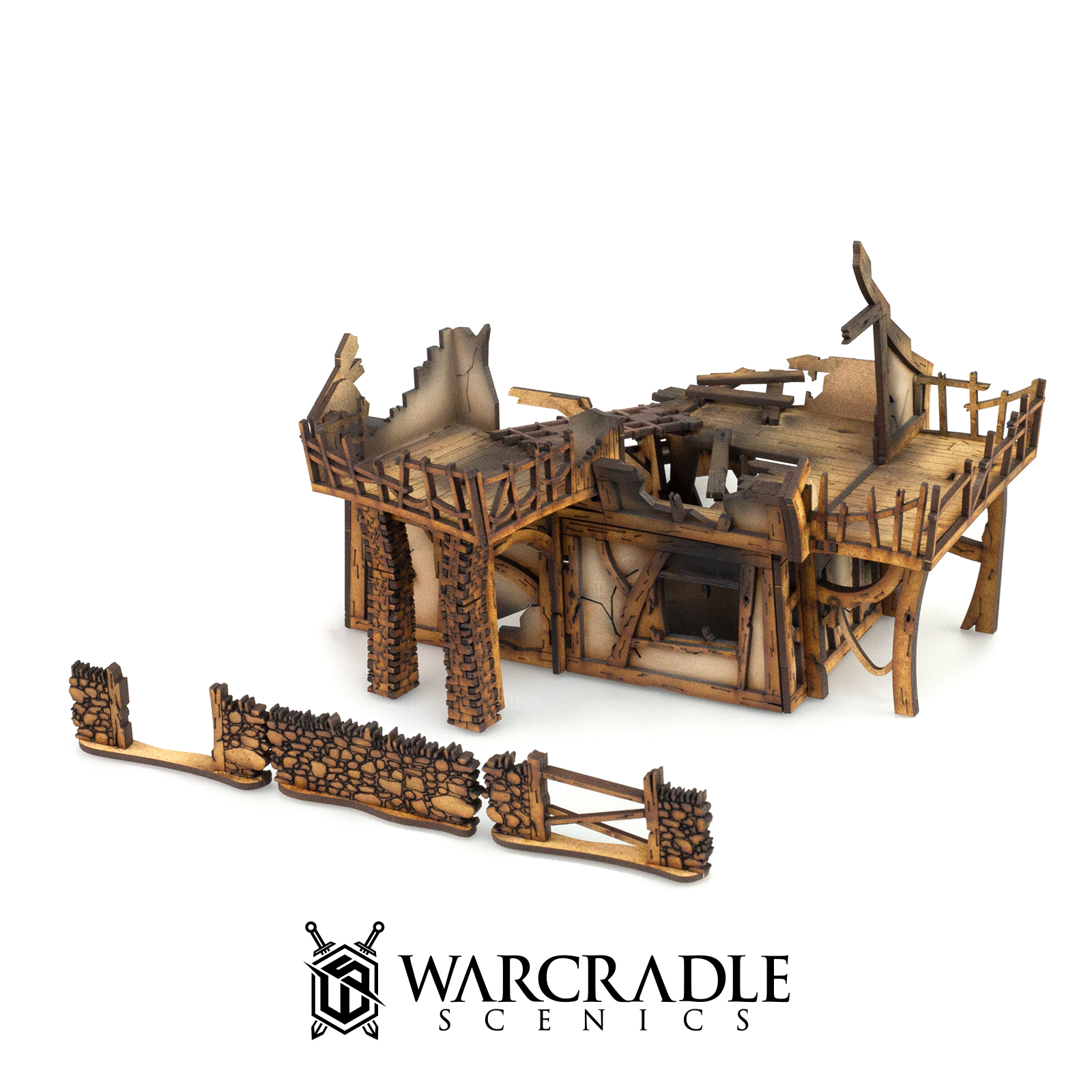Ruined Manor - Tabletop Terrain