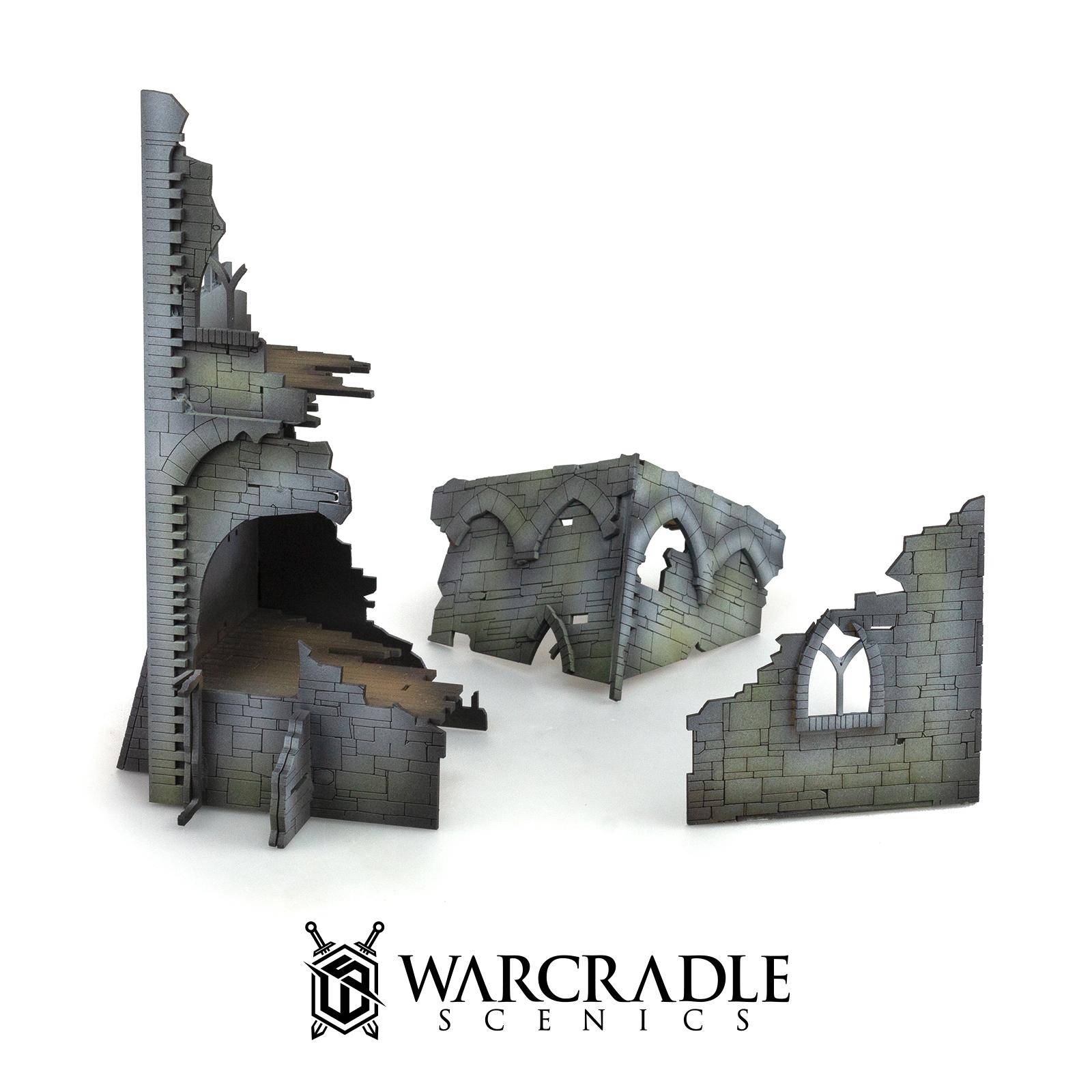 Ruined Tower - Tabletop Terrain