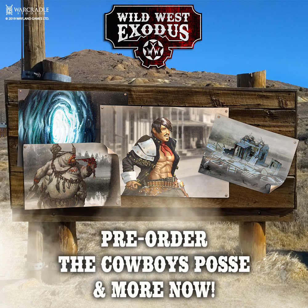 Wild West Exodus August Pre-orders