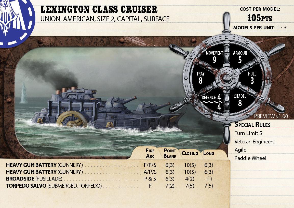 Lemington Class Cruiser