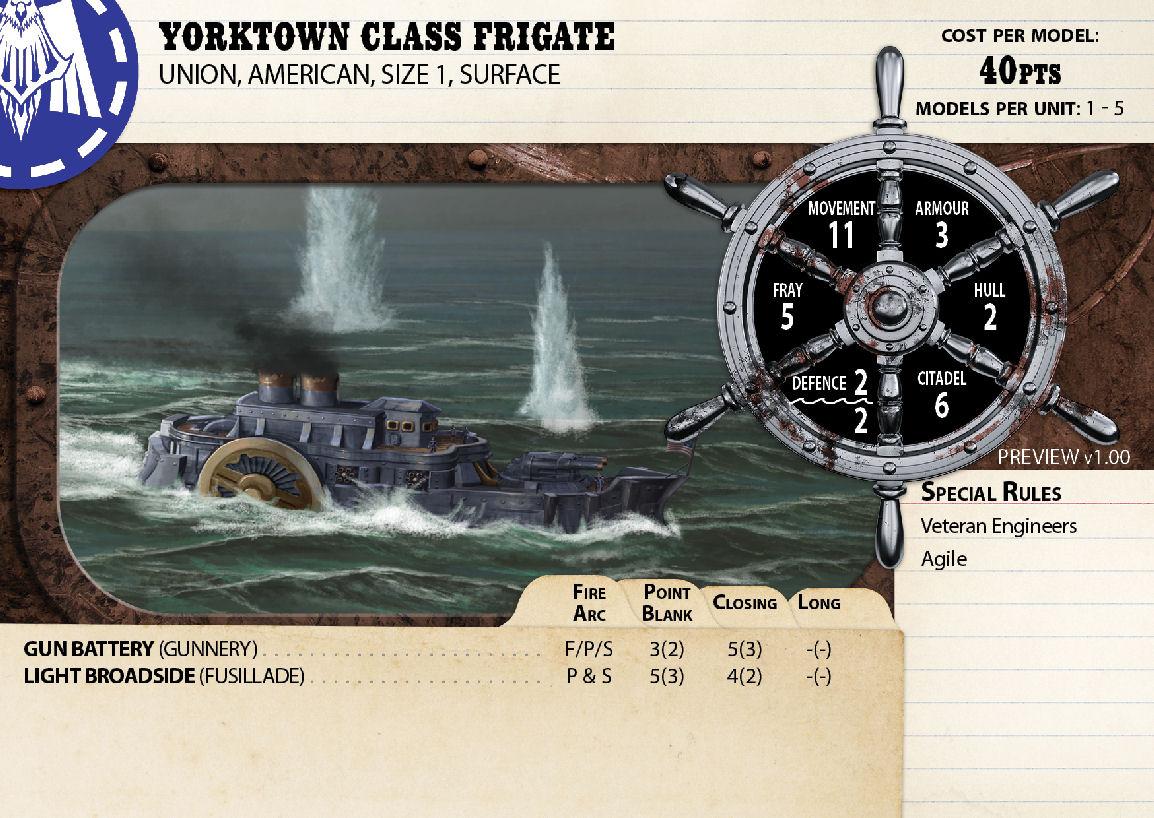 Yorktown Class Frigate