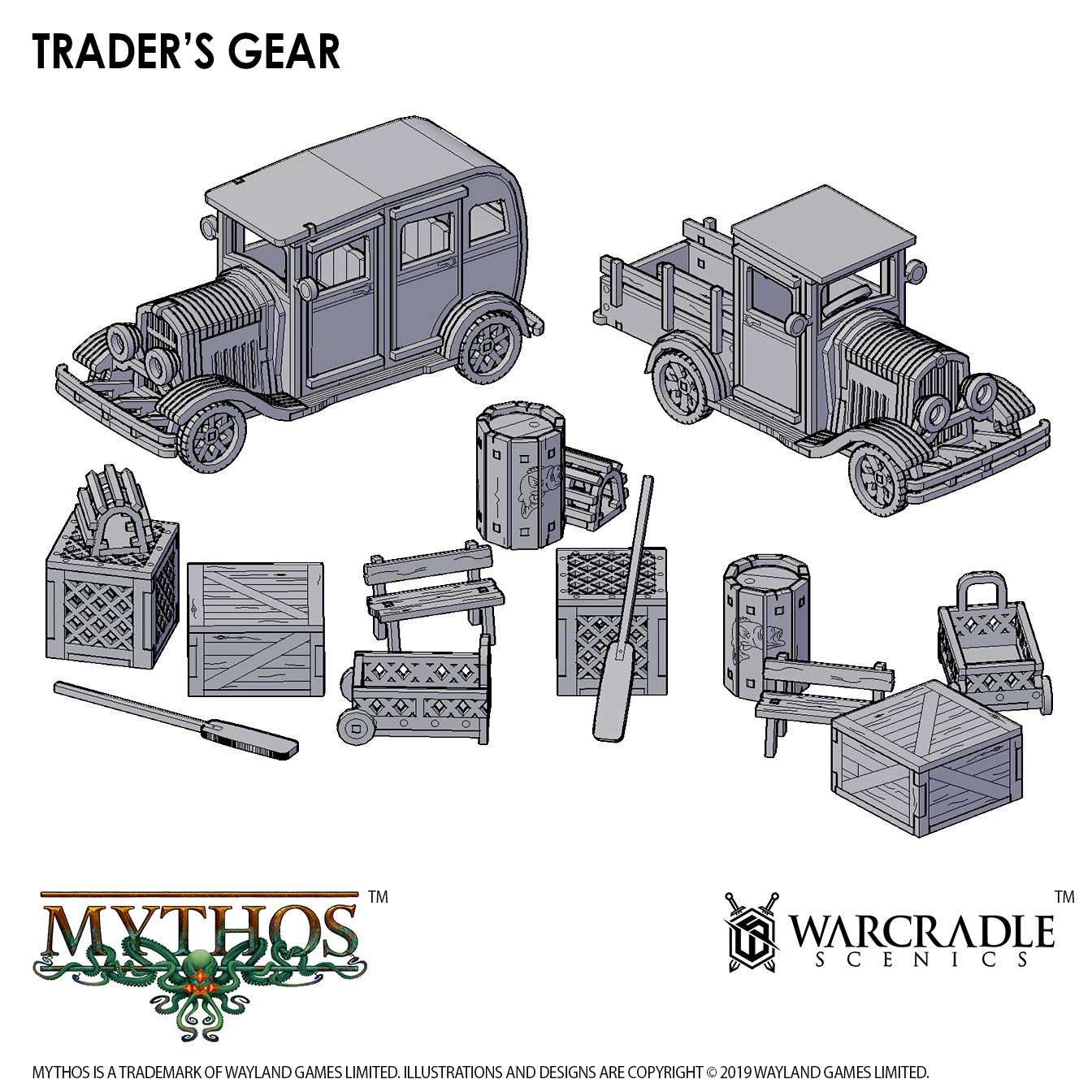 Scatter terrain is an important part of any tabletop skirmish game.