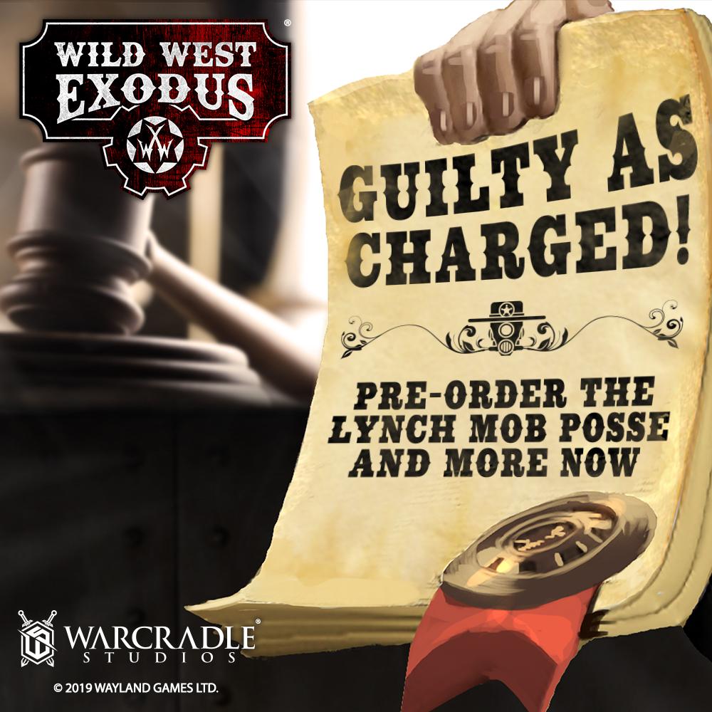 Wild West Exodus: September Pre-Orders