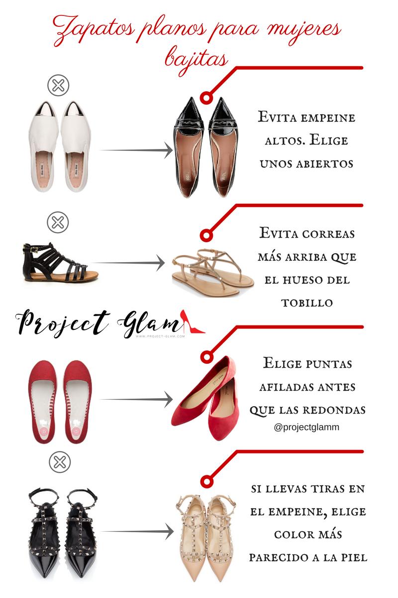 Zapatos Sin Tacón Para Mujeres De Baja Estatura Project Glam
