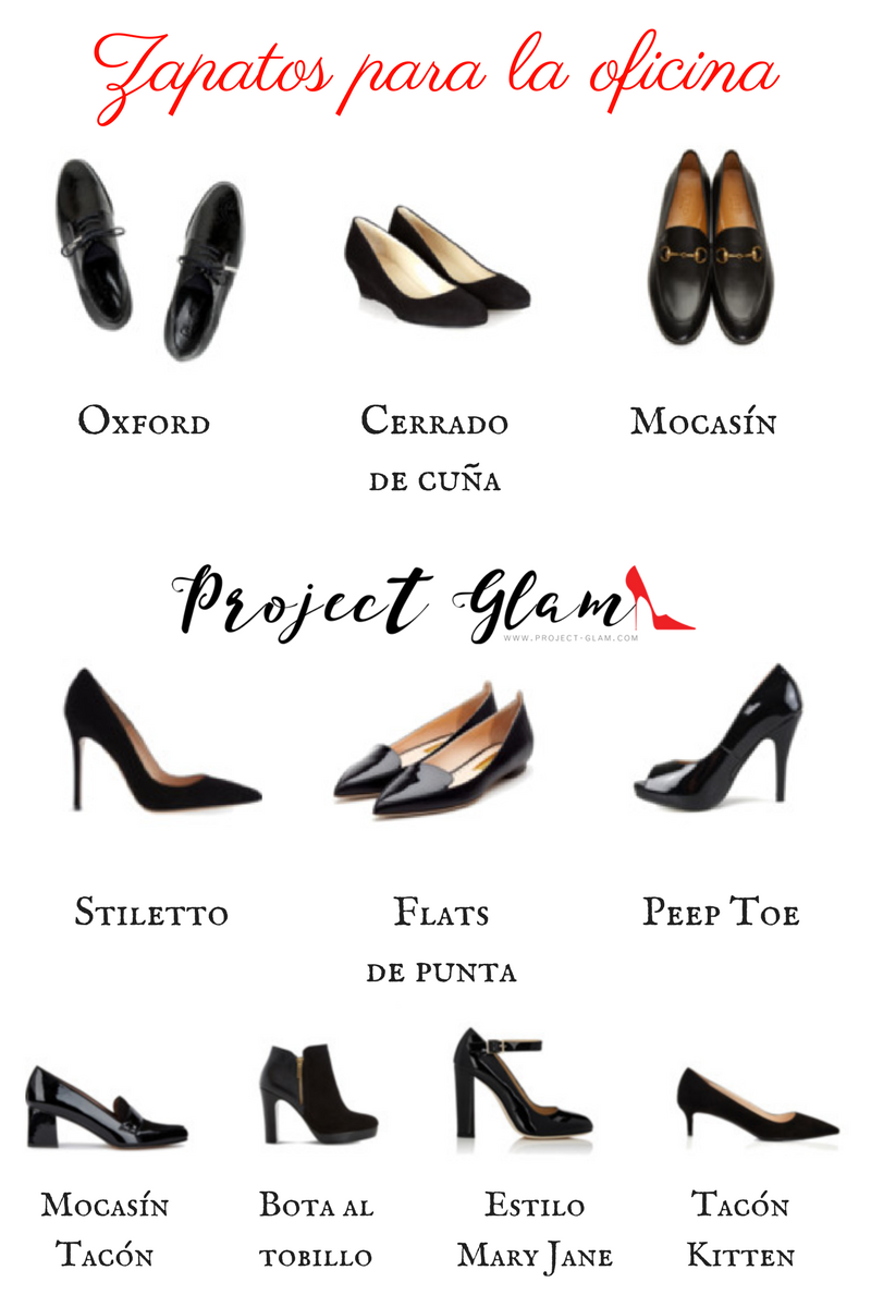 zapatos oficina