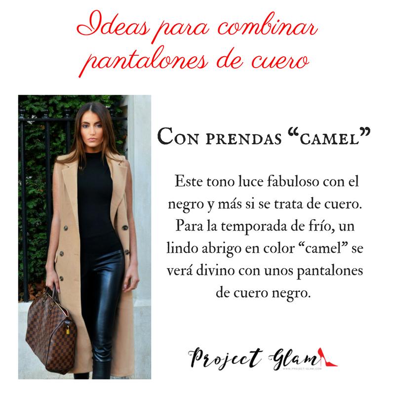 Ideas Para Crear Outfits Con Pantalon De Cuero Project Glam