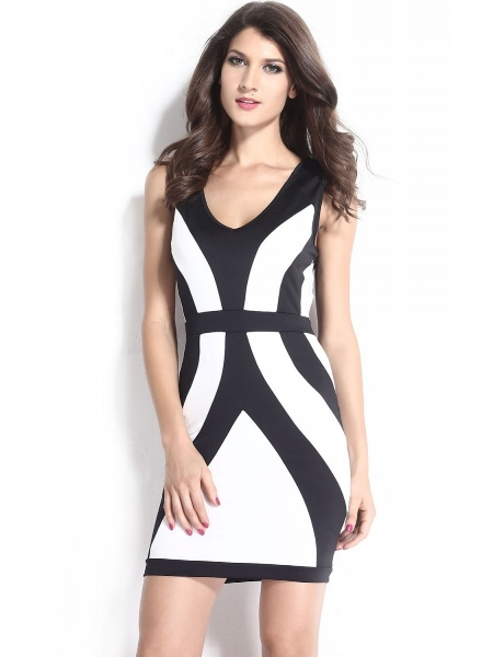 black-white-curvy-lines-thick-straps-bodycon-dress.jpg