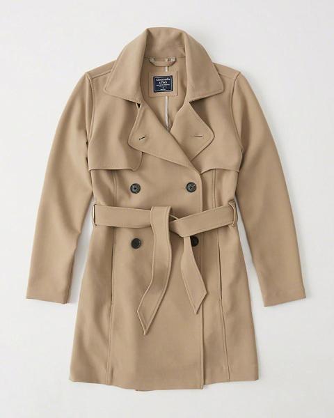 Abrigo tipo Trench - Protege del frío. Perfecto como tercera capa de ropa. Aporta mucho estilo. Sirve para el día y para la noche.