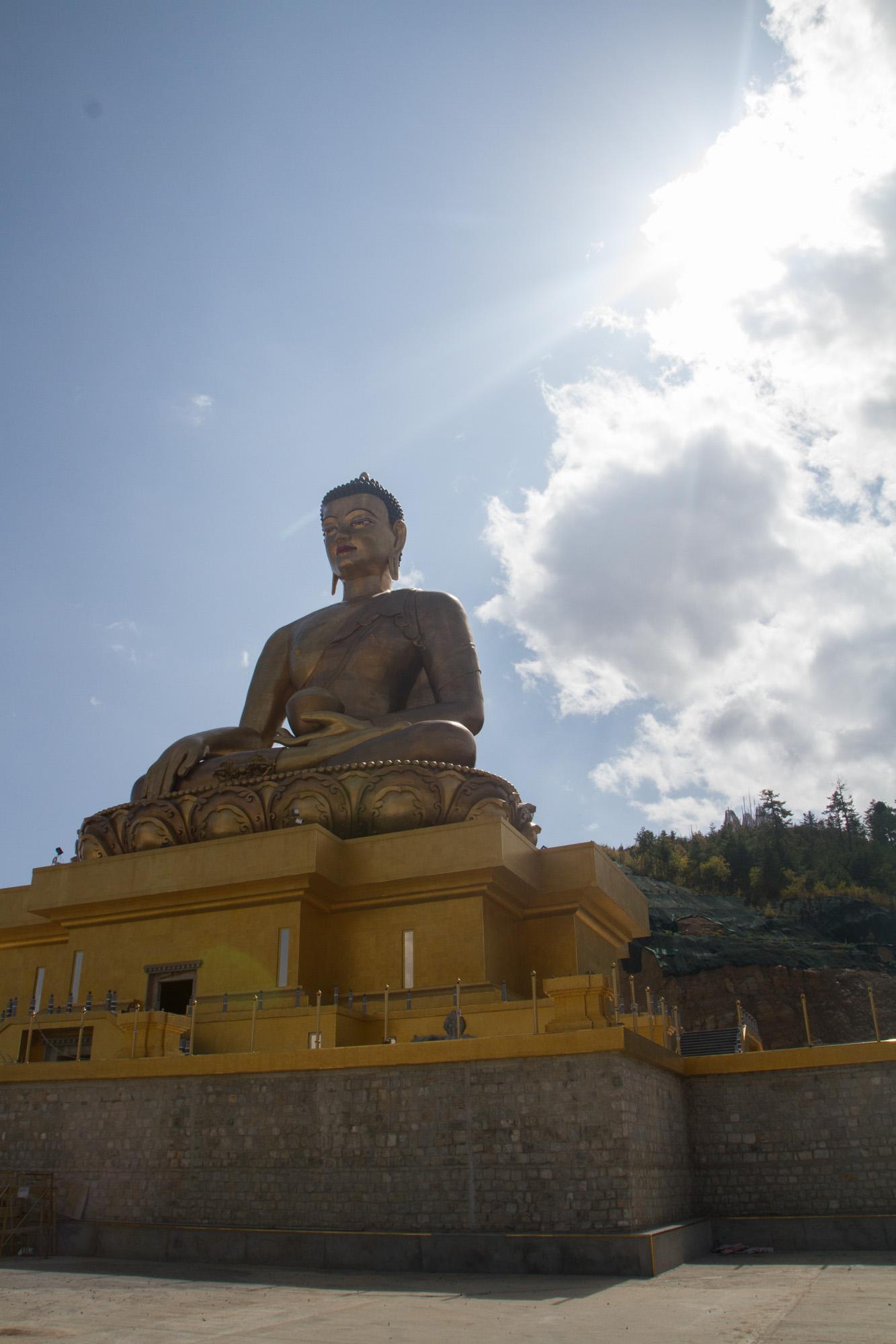 Buddha statue in Thimphu