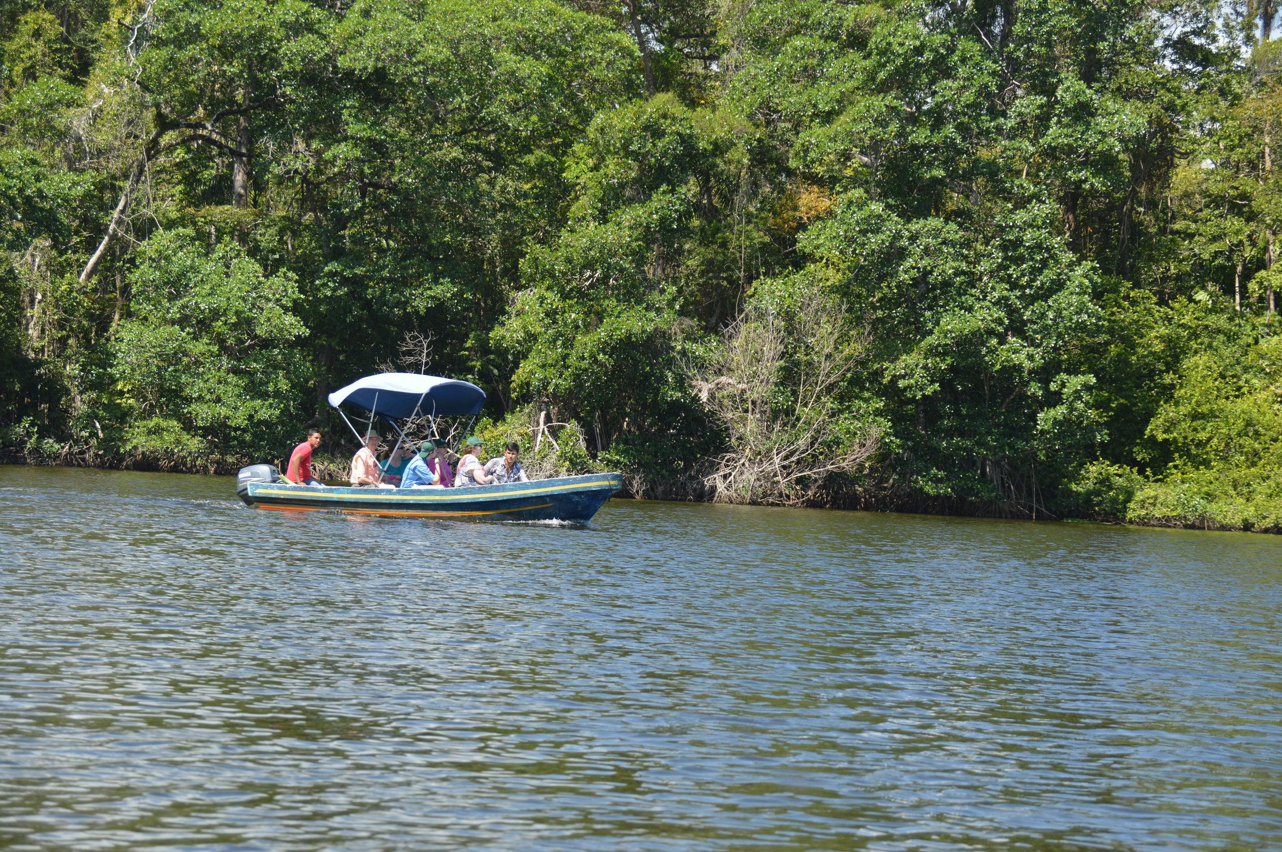 Boat trip on Rio Salado