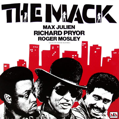 Alan Silvestri  /  Eugene McDaniels  ‎– The Mack (Original Soundtrack)
