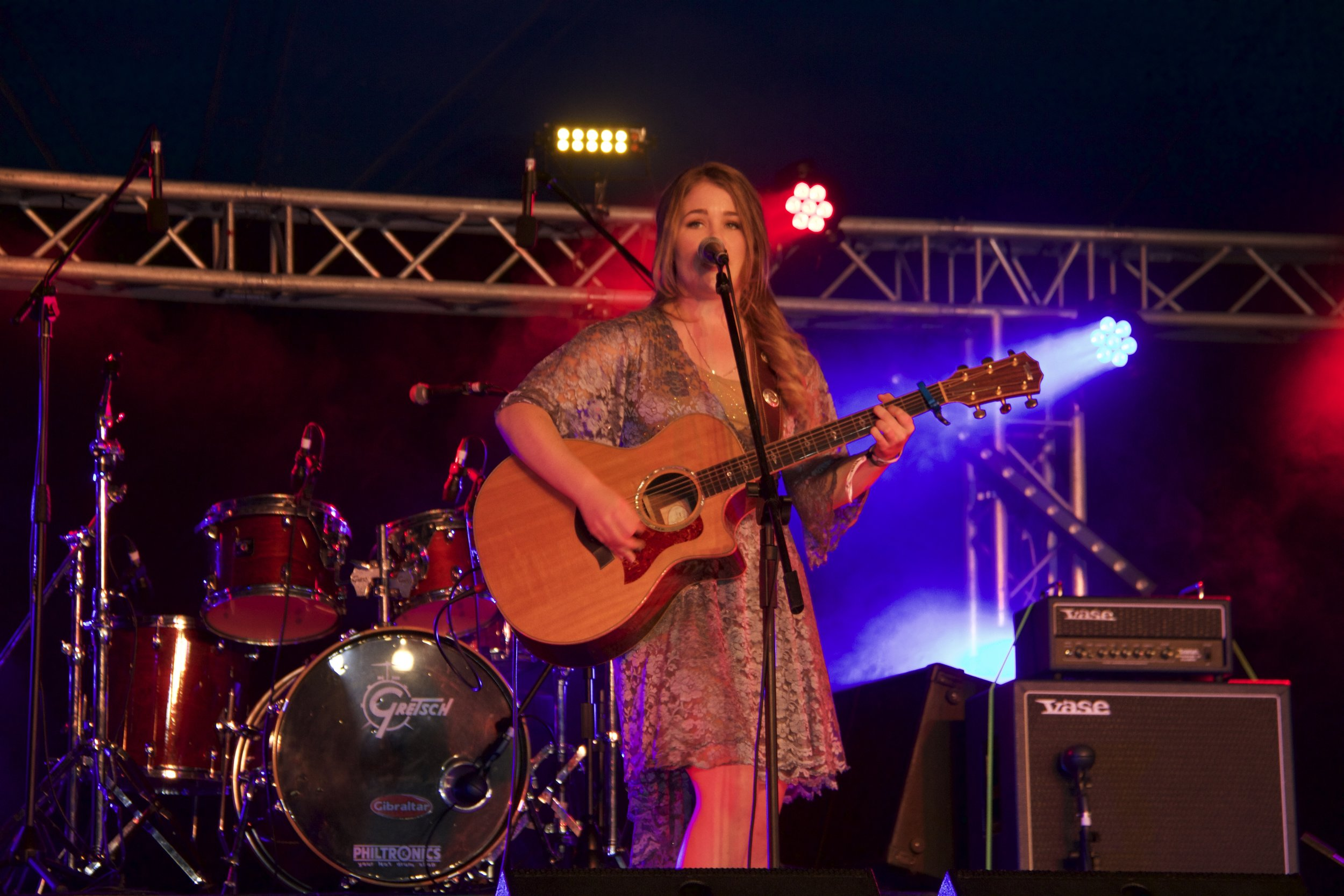 Sami performing the 2016 Gympie Music Muster  Photography by Jaymie Bennee