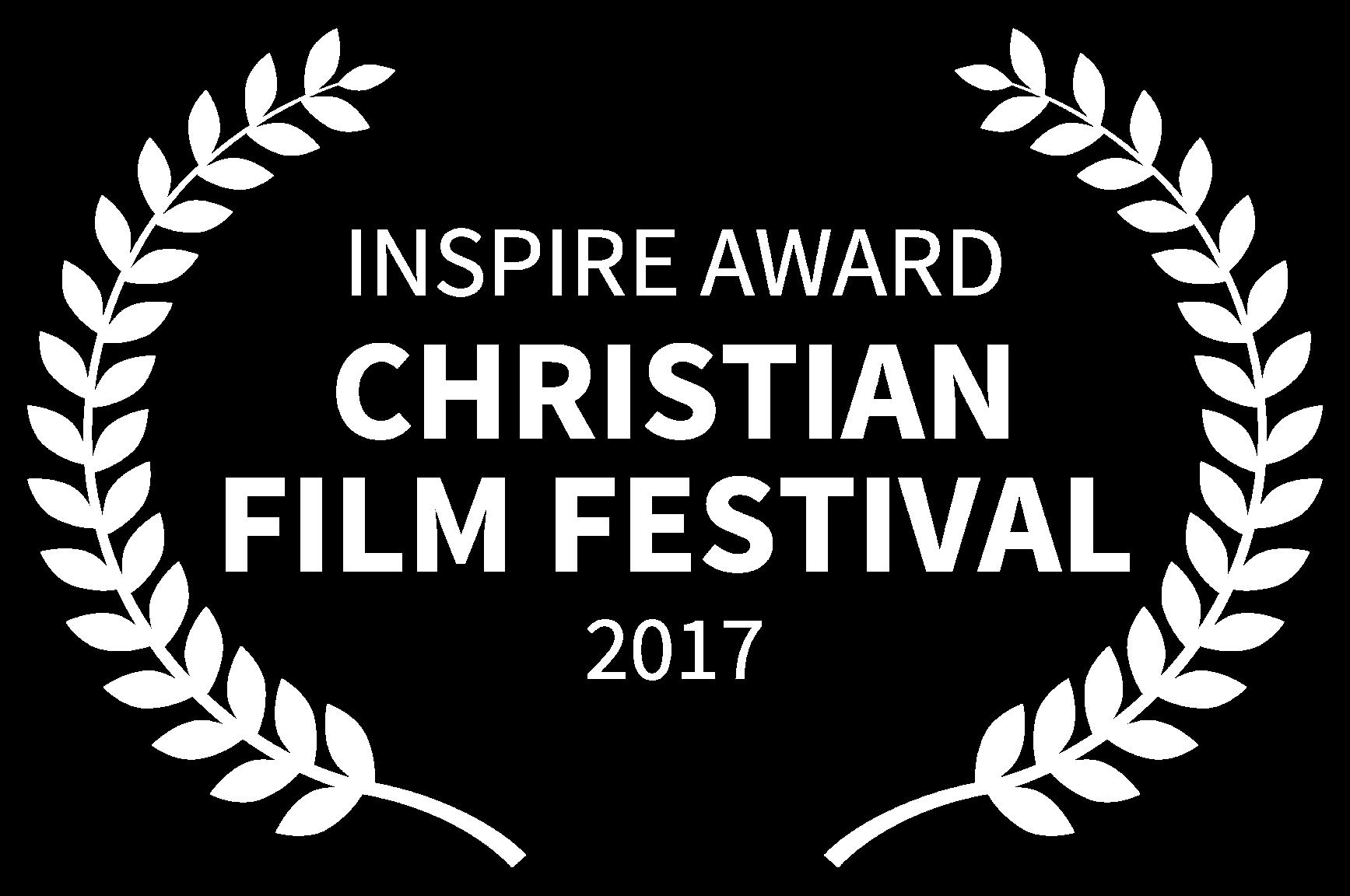 INSPIRE AWARD - CHRISTIAN FILM FESTIVAL - 2017.png